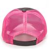 Memphis WRFC Mesh-Back Adjustable Hat, Charcoal/Neon Pink