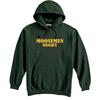 Moosemen Rugby Hoodie, Forest