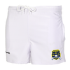 NYSRRS Pocketed Performance Rugby Shorts, White