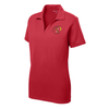 Maryland Exiles Girls Performance Polo, Red