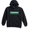 Frederick Women Fleece Hoodie, Black