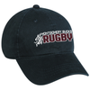 MB Rugby Twill Adjustable Hat, Navy