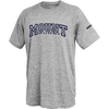 MSM Rugby Performance Tee, Heather Silver
