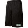Axemen Rugby Mesh Pocketed Gym Shorts