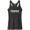 Frederick WRFC Ladies Tank, Heathered Black