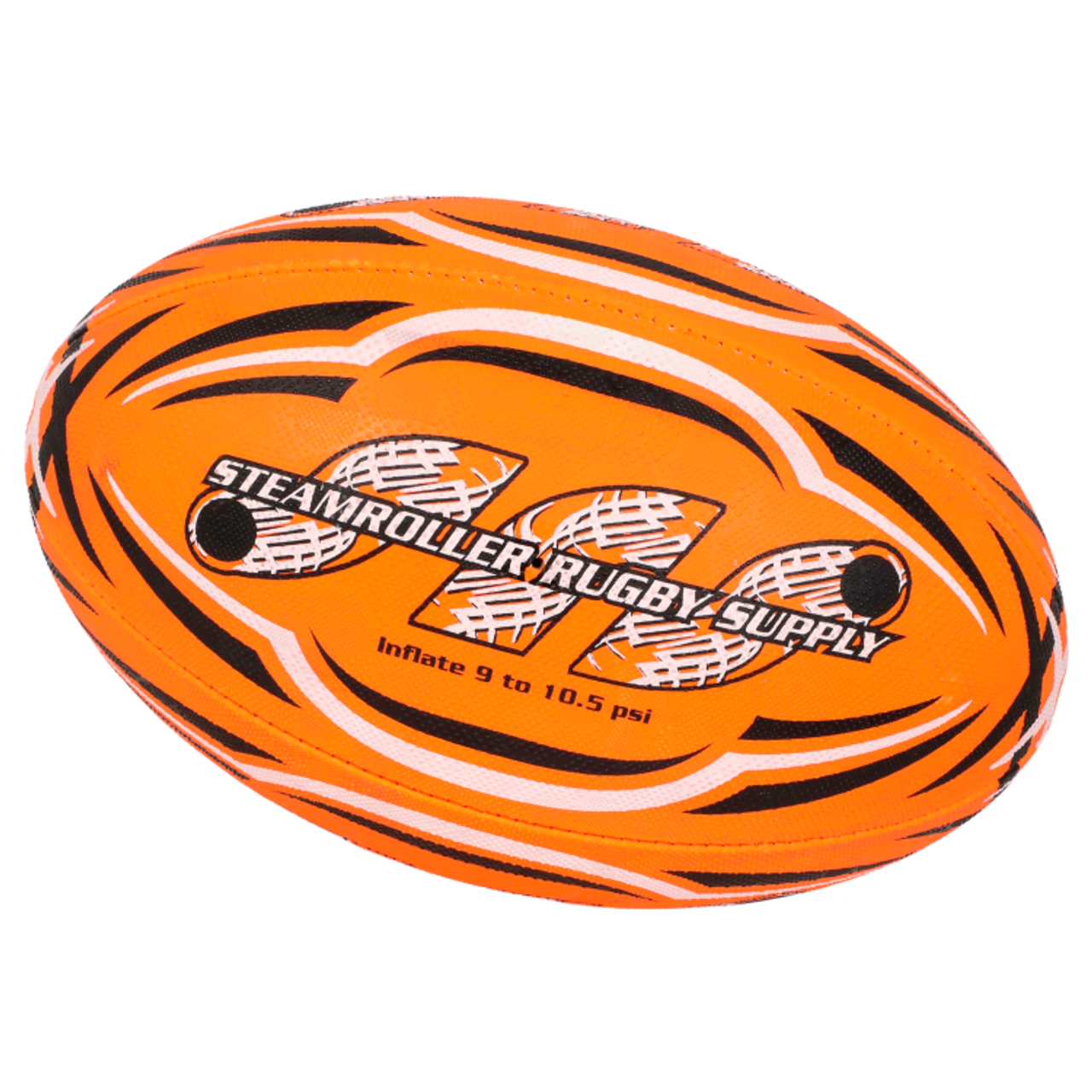 Fluoro Orange Size 5 Rugby Ball