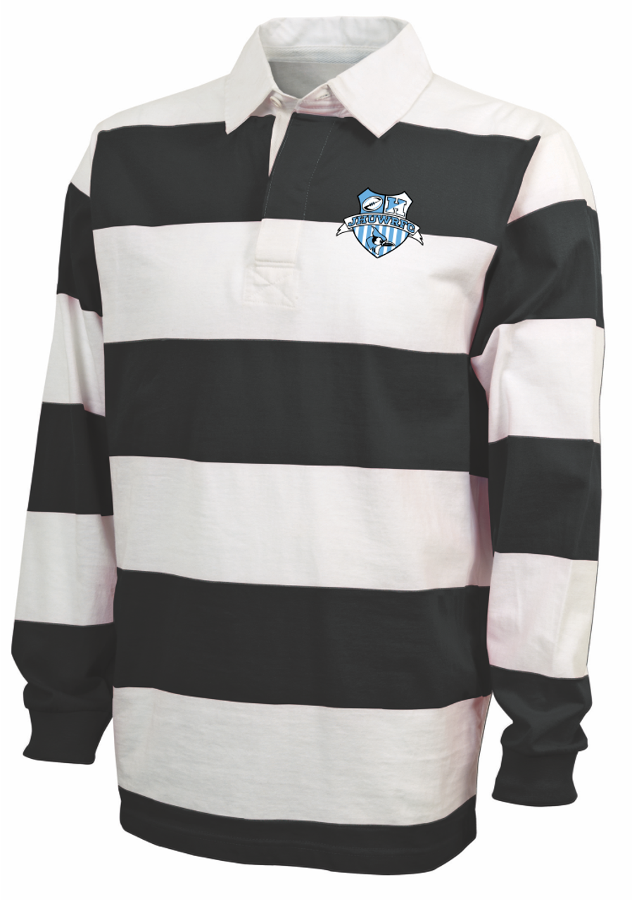 79d0a1dea7 Hopkins Women Rugby Stripe Polo | Steamroller Rugby