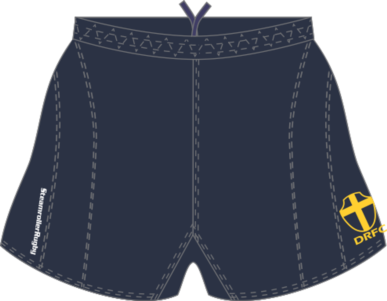 Downingtown SRS Performance Rugby Shorts, Navy