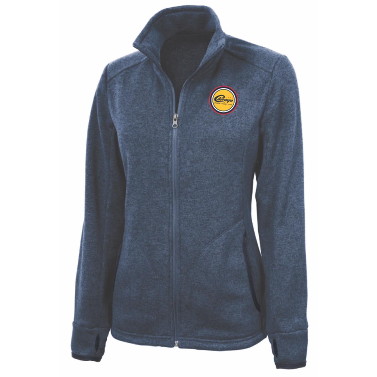Chicago WRFC Heathered-Knit Fleece Jacket