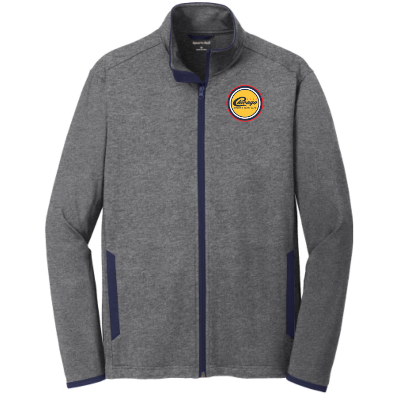 Chicago WRFC Full-Zip PolyStretch Top