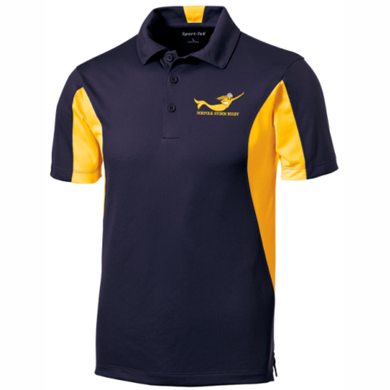 Norfolk Storm Colorblock Performance Polo