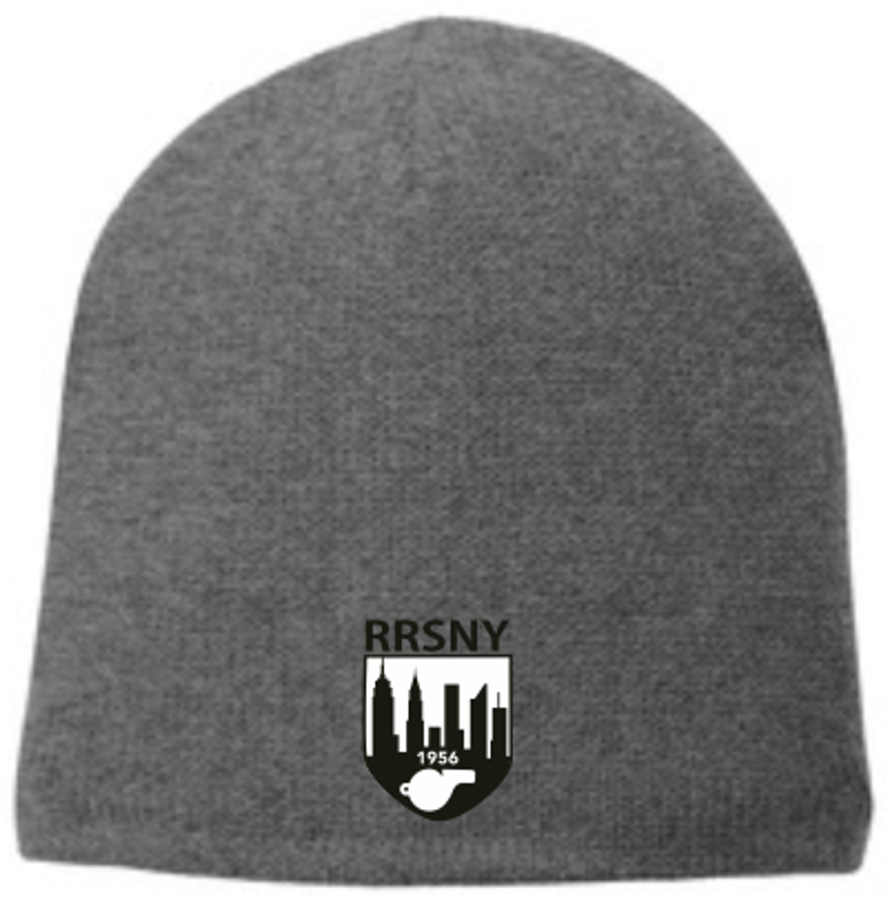 RRSNY Fleece-Lined Beanie, Oxford Gray