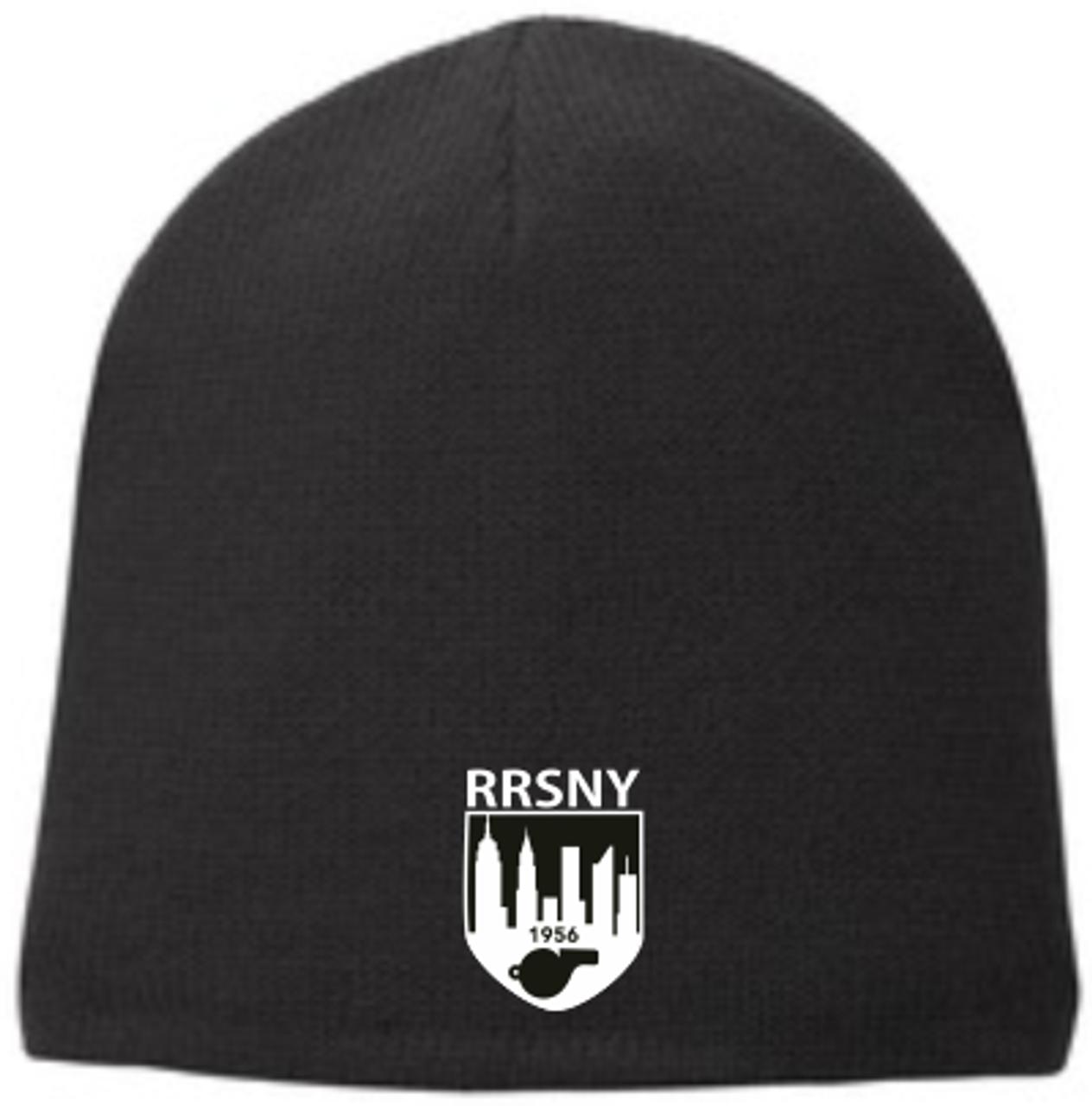 RRSNY Fleece-Lined Beanie, Black