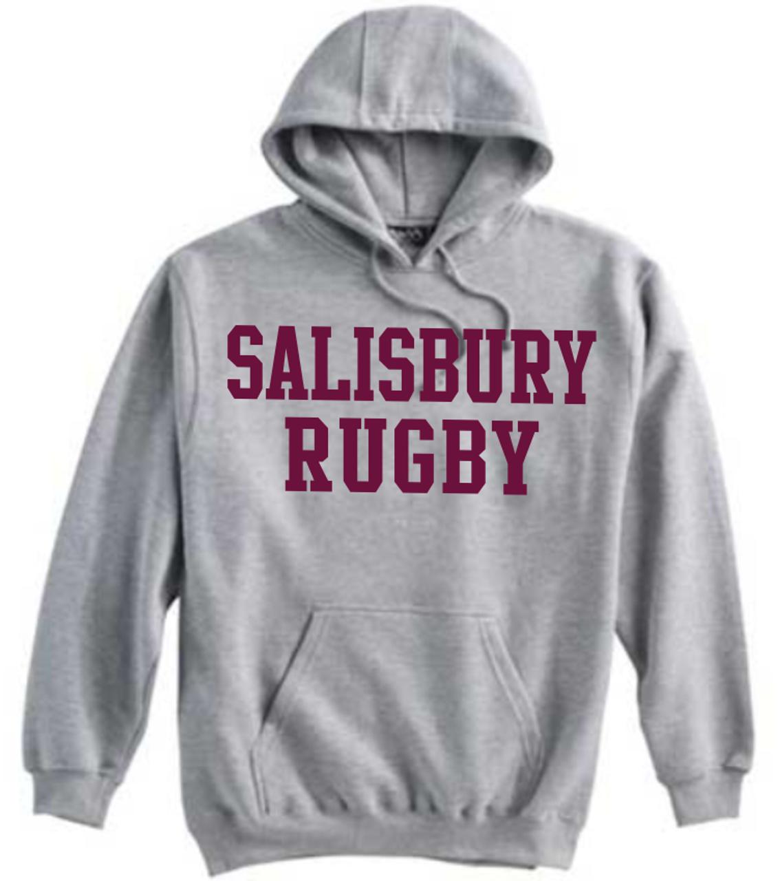 Salisbury Rugby Hoodie, Gray
