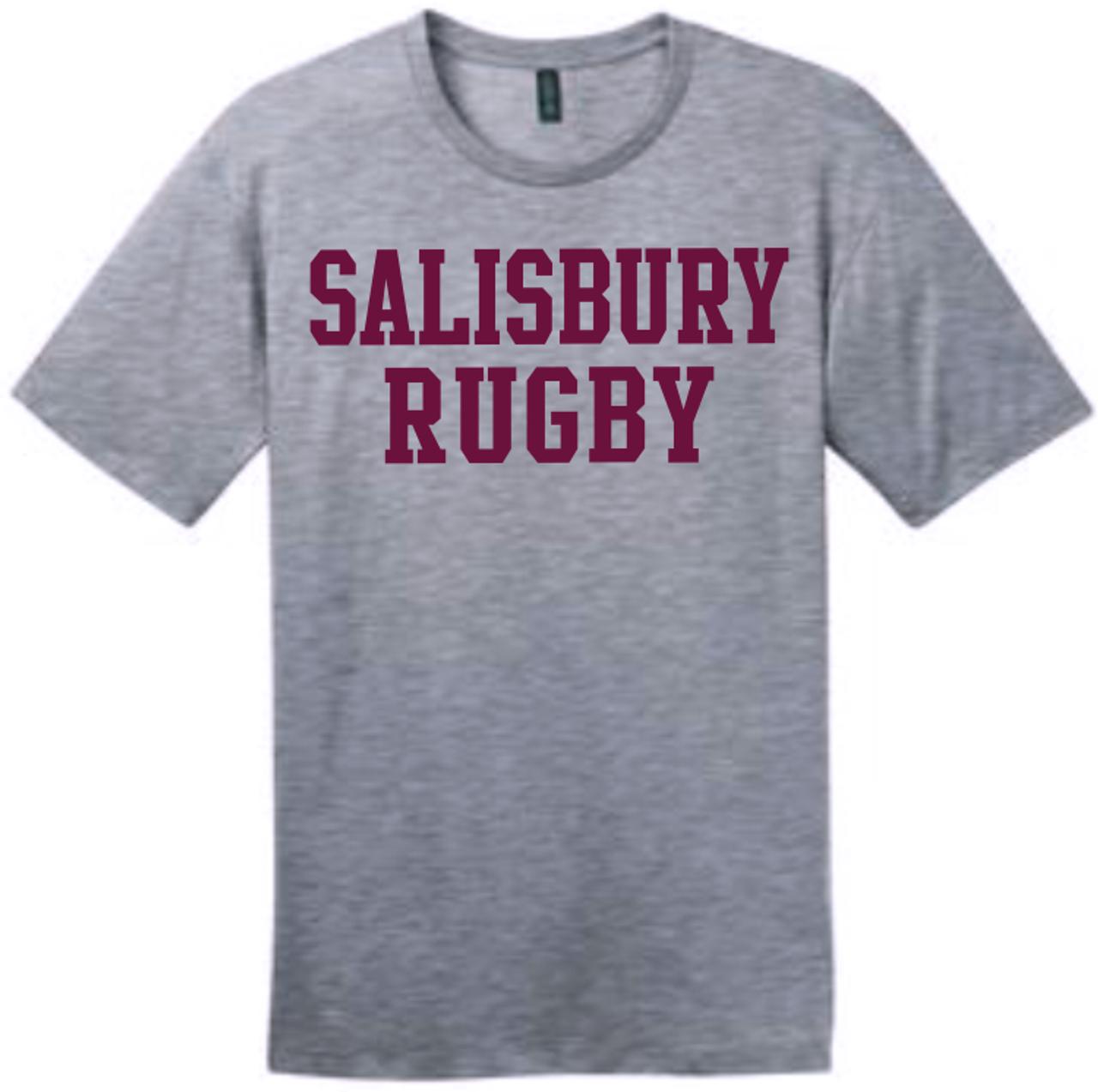 Salisbury Rugby Cotton Tee, Gray