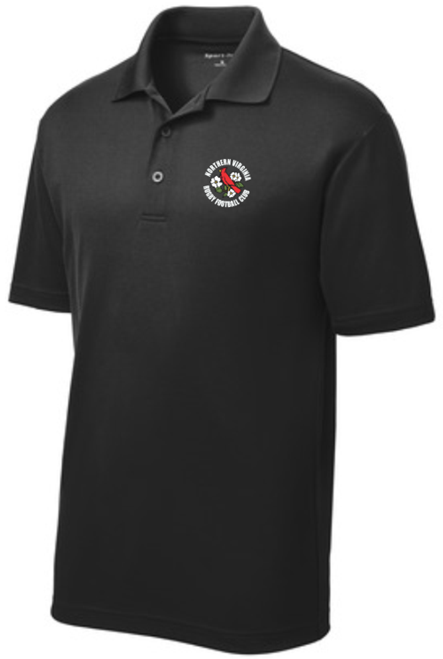 NOVA RFC Performance Polo, Black