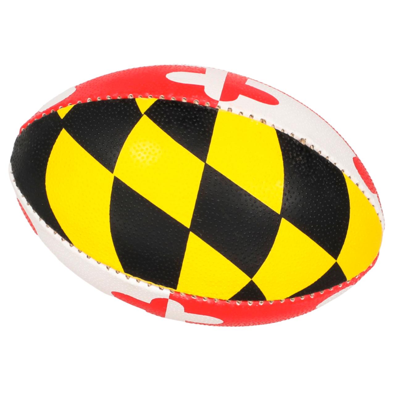 Maryland Flag Mini Rugby Ball