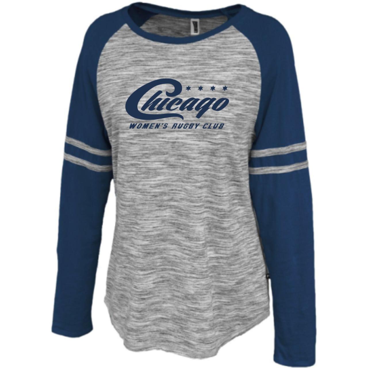 Chicago WRFC Space Dye Ladies-Cut LS Jersey