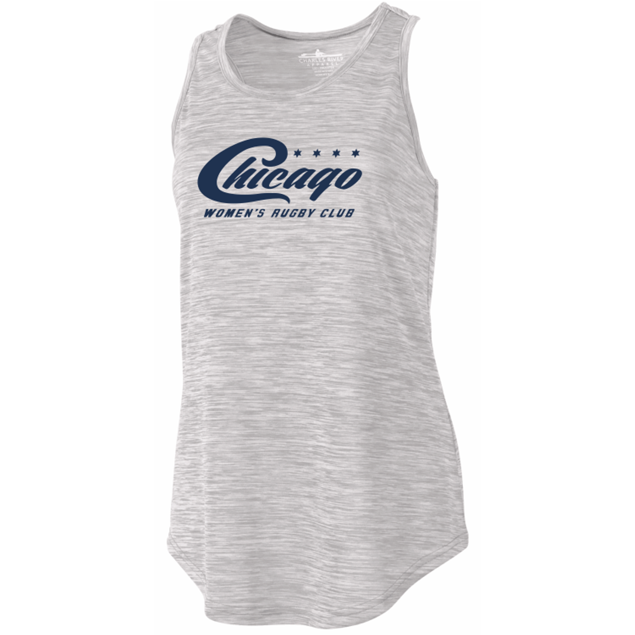 Chicago WRFC Space Dye Ladies-Cut Tank