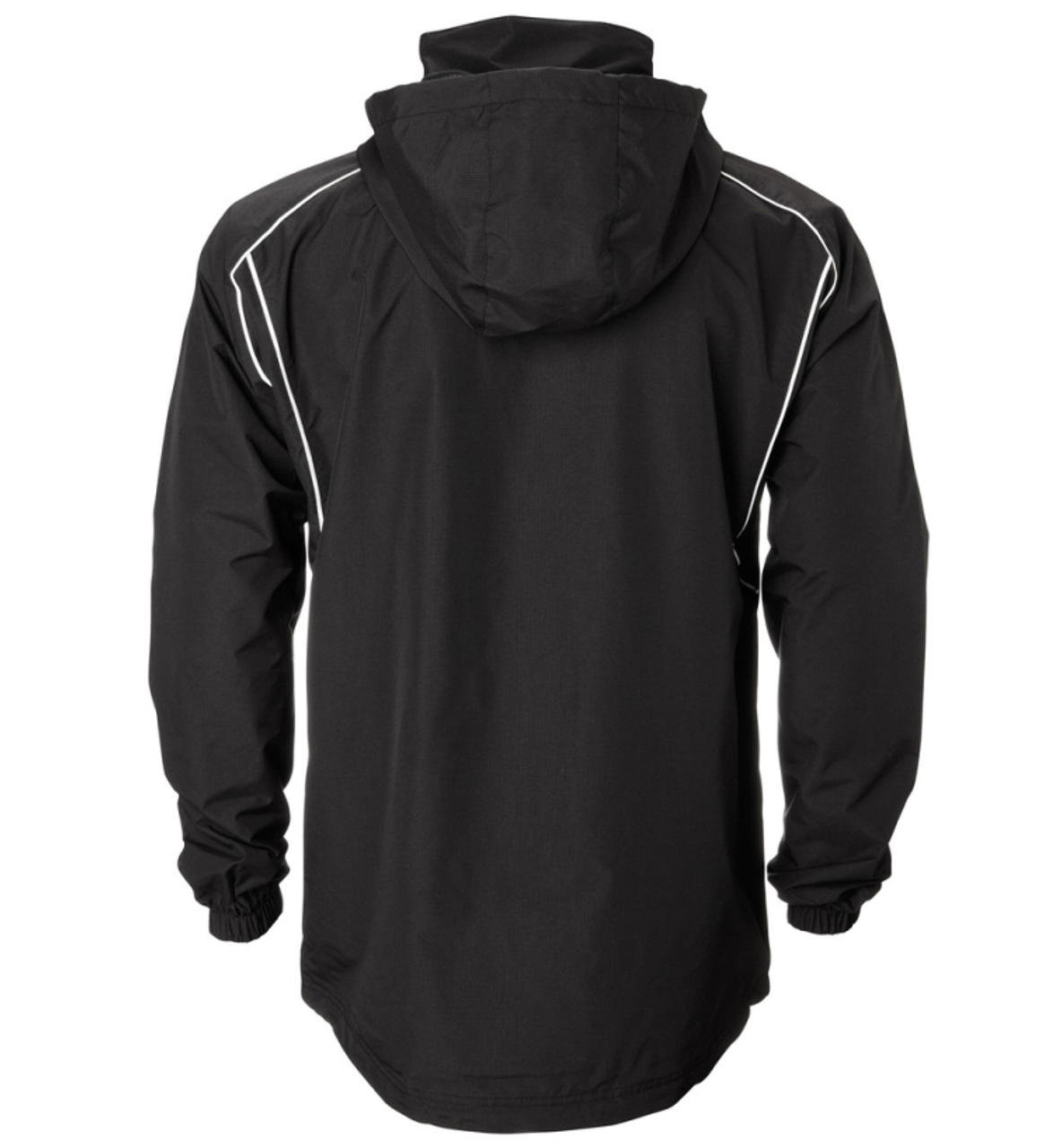 Classic Rain jacket shown with the tuck-away hood shown out.
