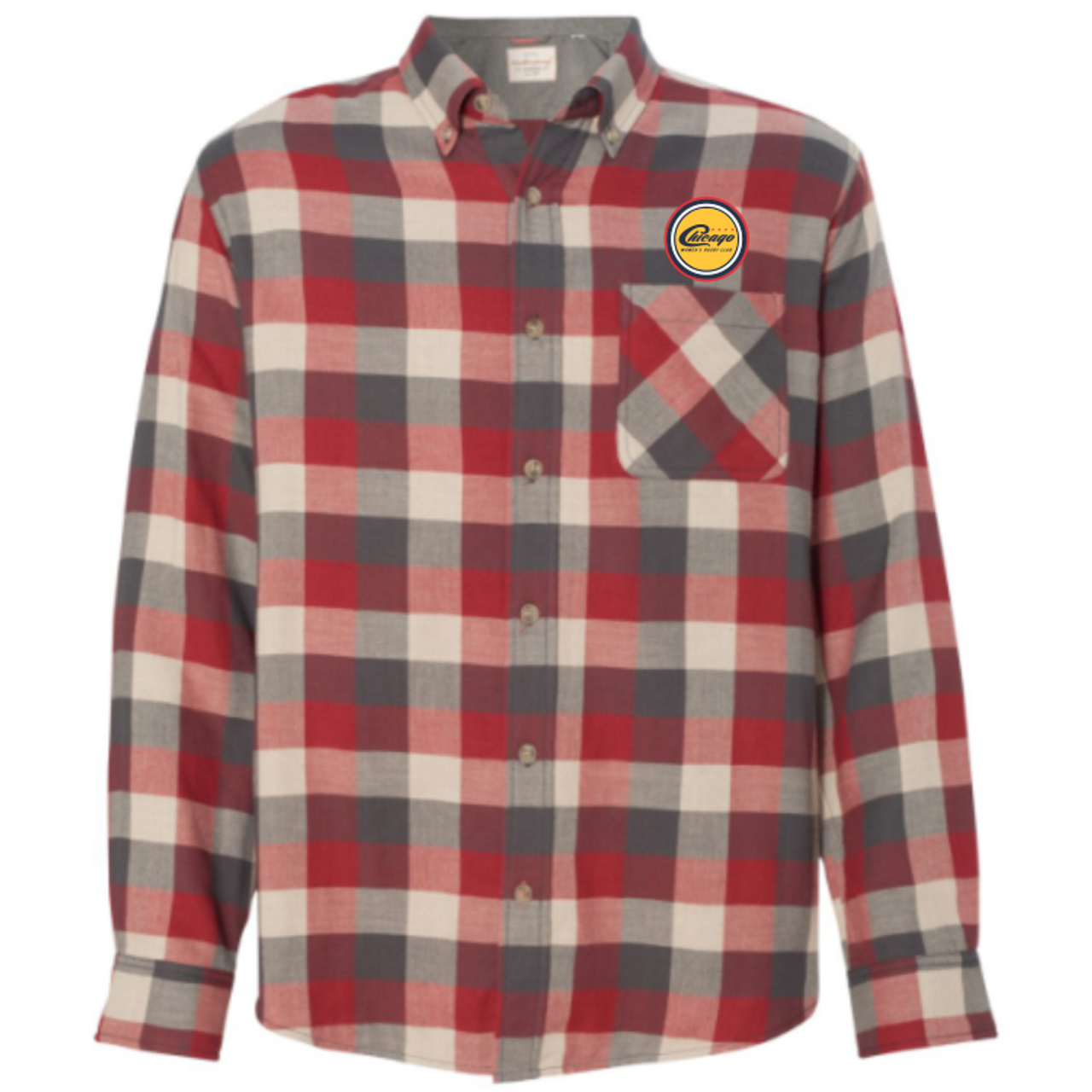 Chicago WRFC Button-Down Flannel Shirt