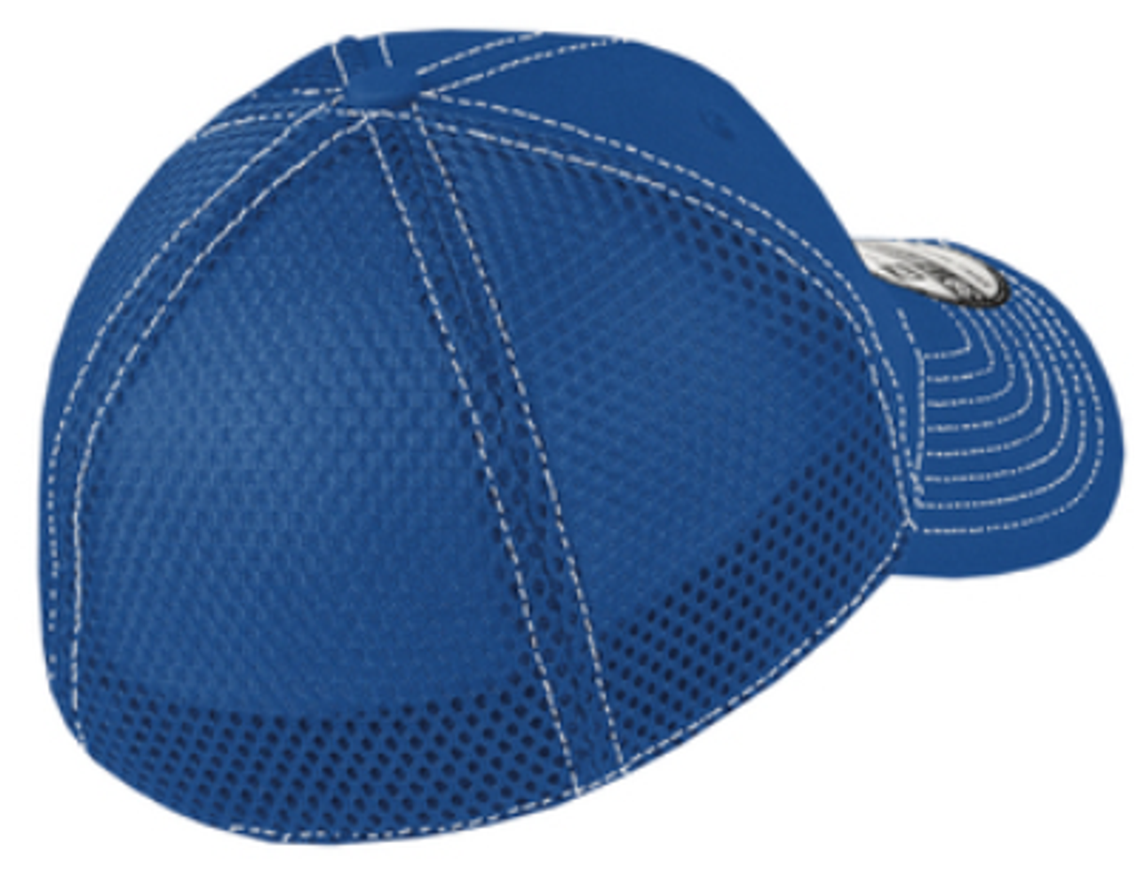 Warriors Stretch Mesh-Back Hat, Royal