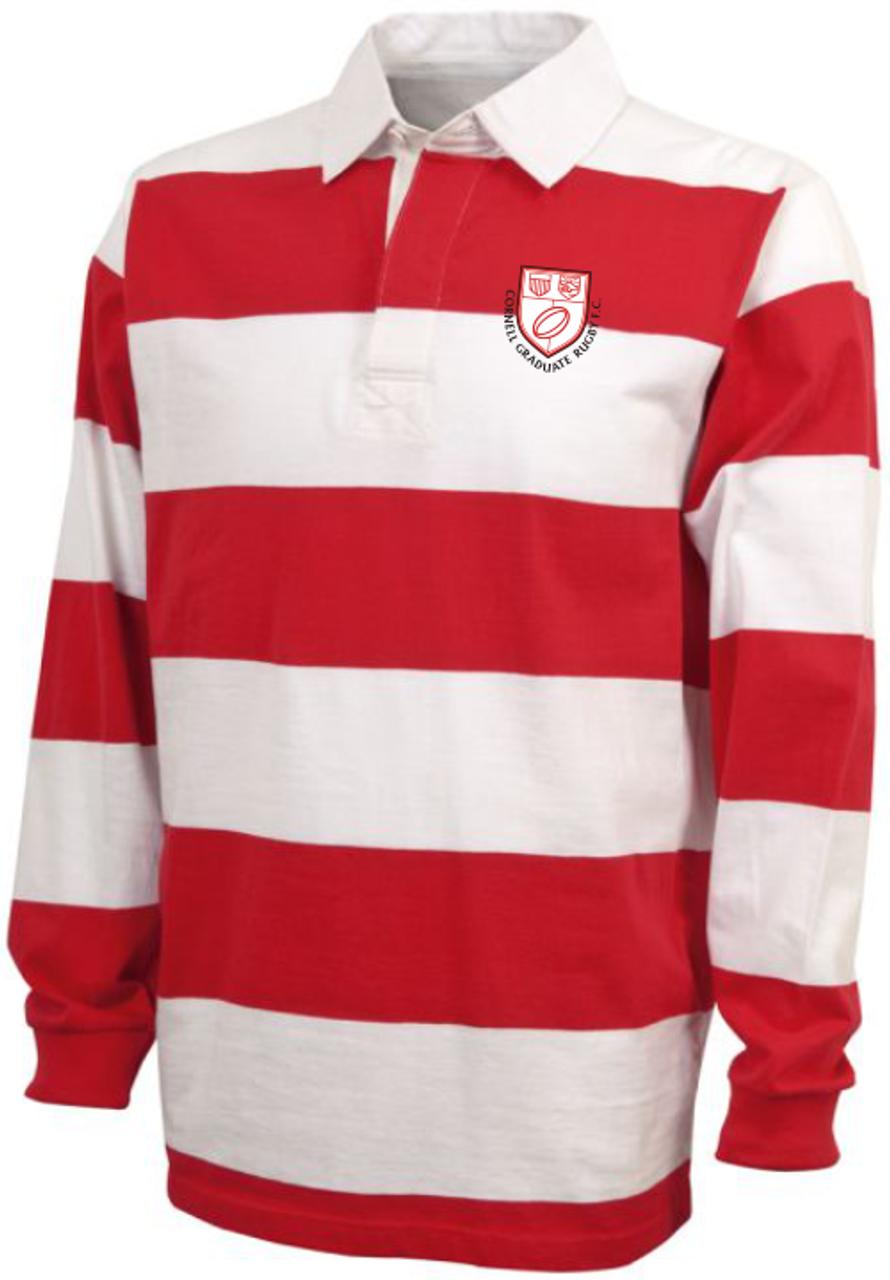 Cornell Graduate Rugby Stripe Polo