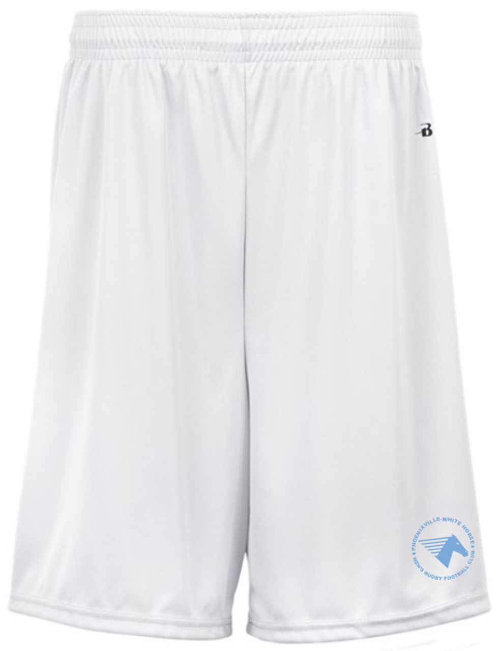 White Horse RFC Gym Short, White