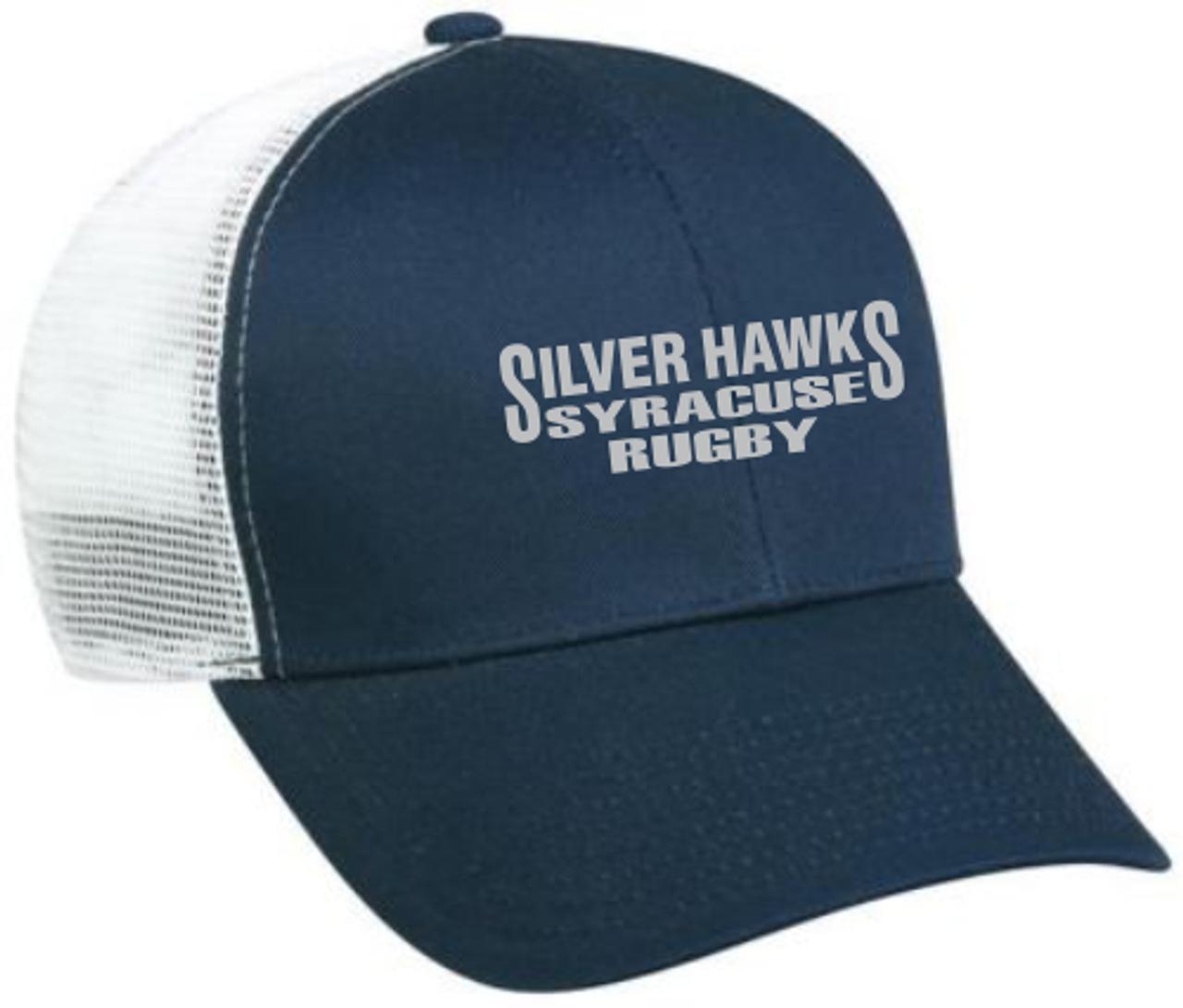 Syracuse Silver Hawks Mesh-Back Hat, Navy