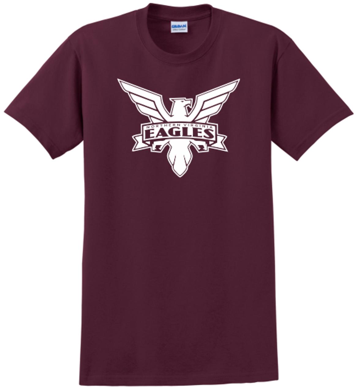 NOVA Eagles Tee, Maroon
