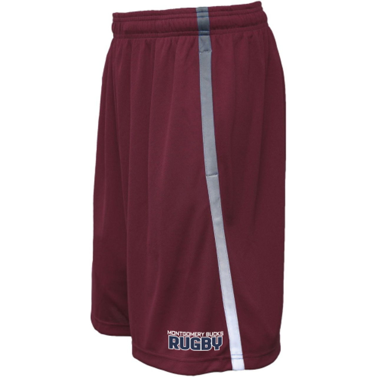 MB Rugby Gym Shorts, Maroon