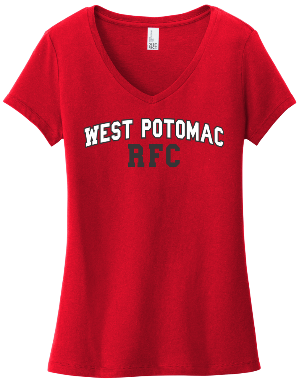 West Potomac Ladies-Cut V-Neck Tee