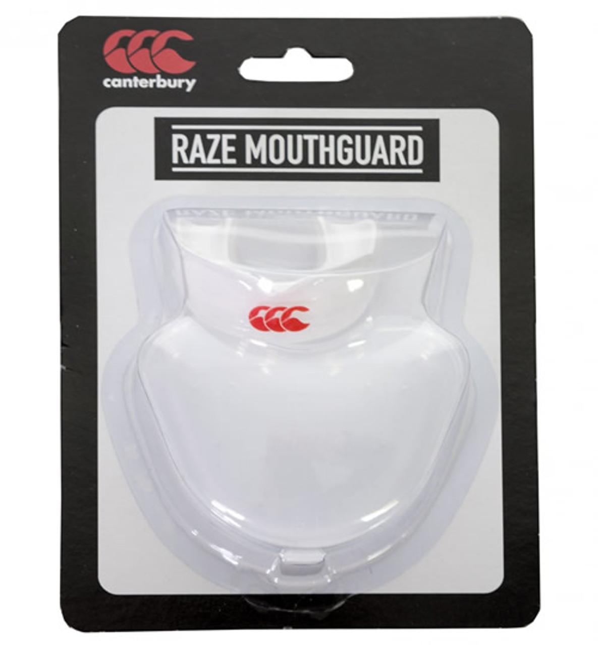 CCC Raze Mouthguard, Clear/White
