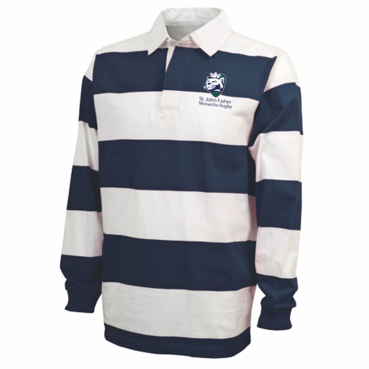 Fisher WRFC Rugby-Stripe Polo