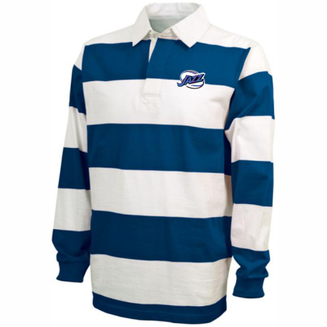 KC Jazz Rugby-Stripe Polo