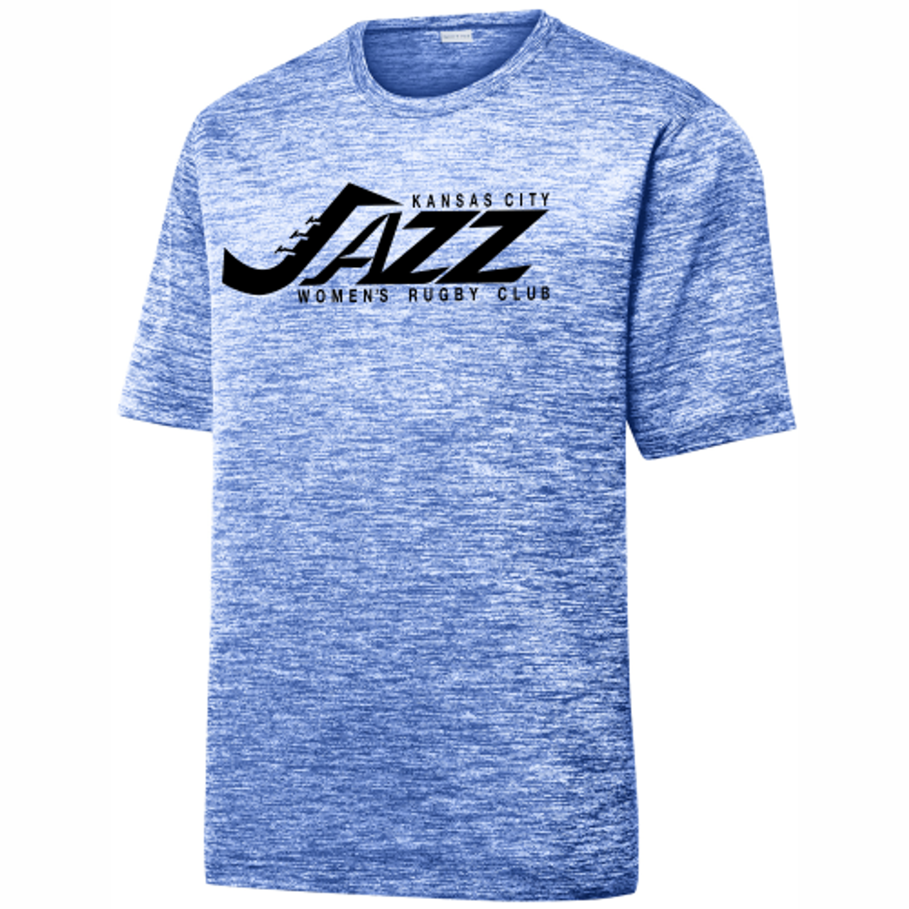 KC Jazz Heathered Performance Tee