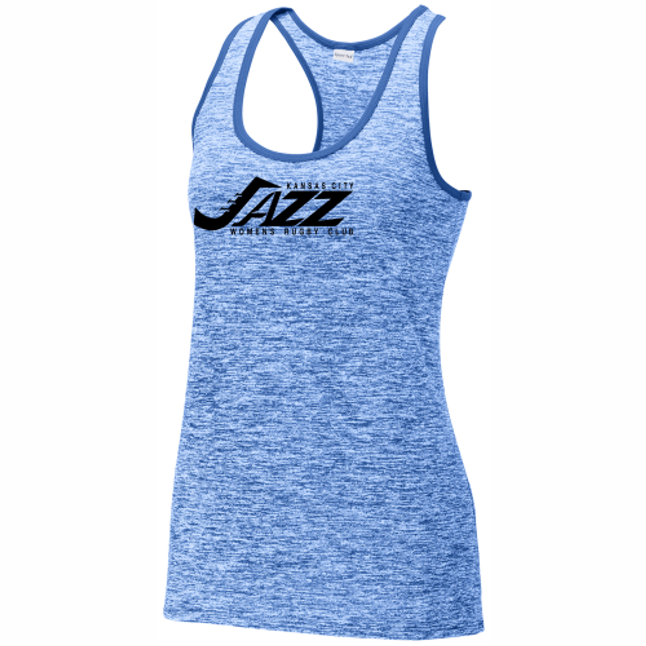 KC Jazz Heathered Performance Tank