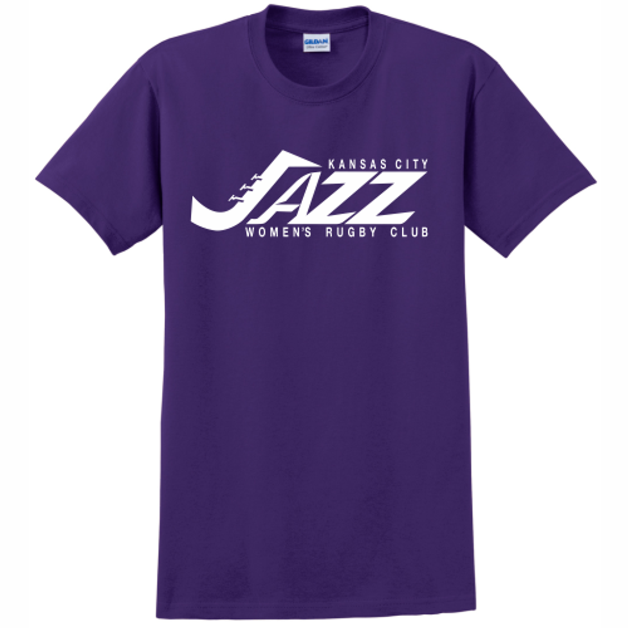 KC Jazz Cotton Tee, Purple