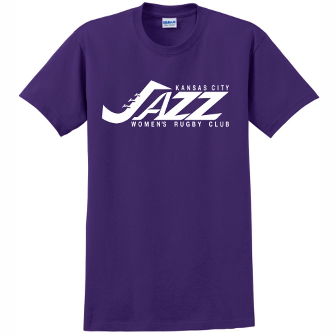 KC Jazz Cotton Tee, Purple