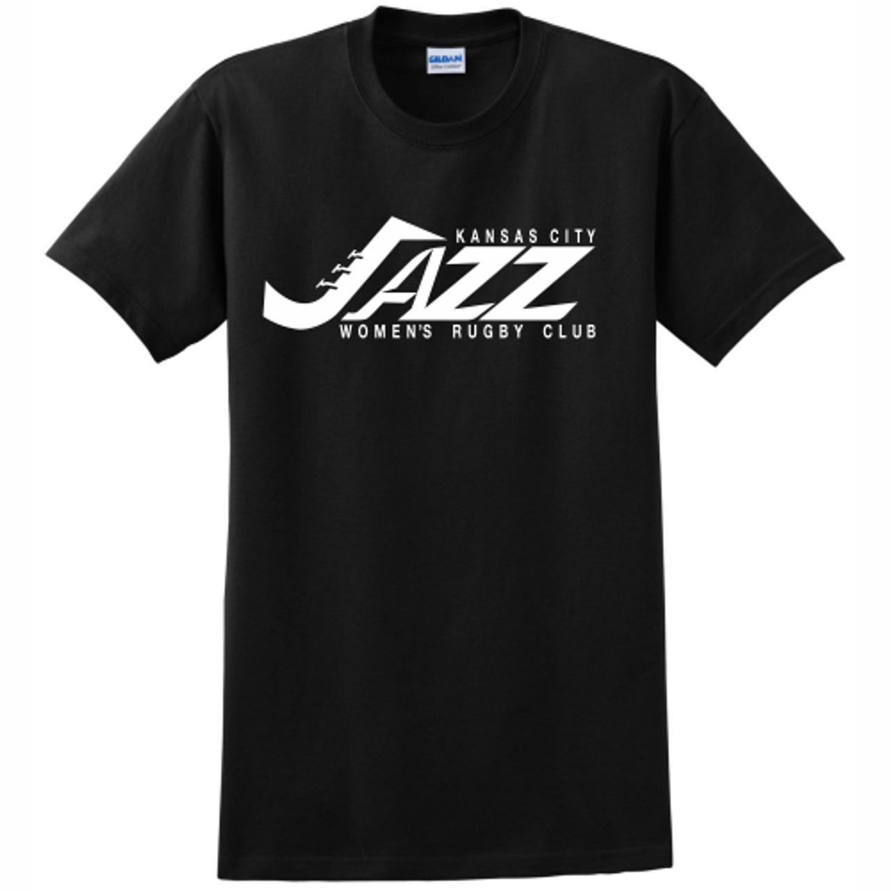 KC Jazz Cotton Tee, Black