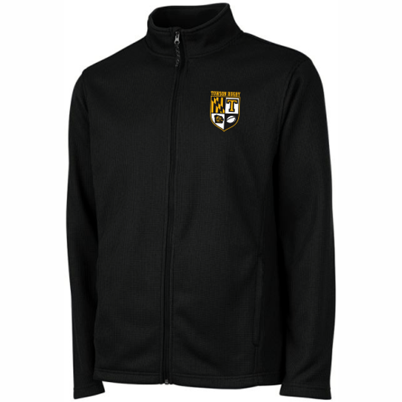 Towson Rugby Rib Knit Jacket