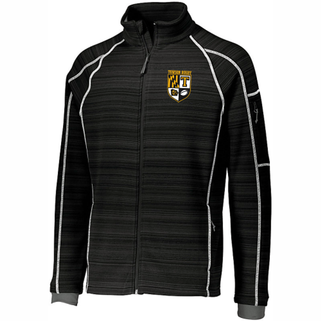 Towson Rugby Full-Zip Poly Fleece Jacket