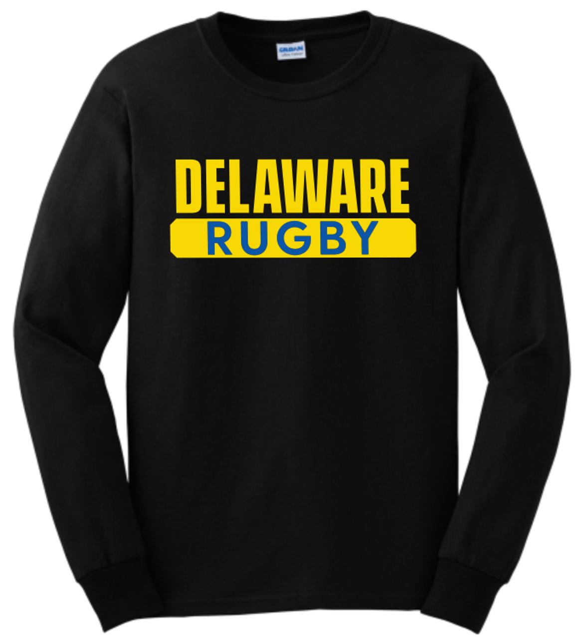 Delaware Rugby Tee, Black