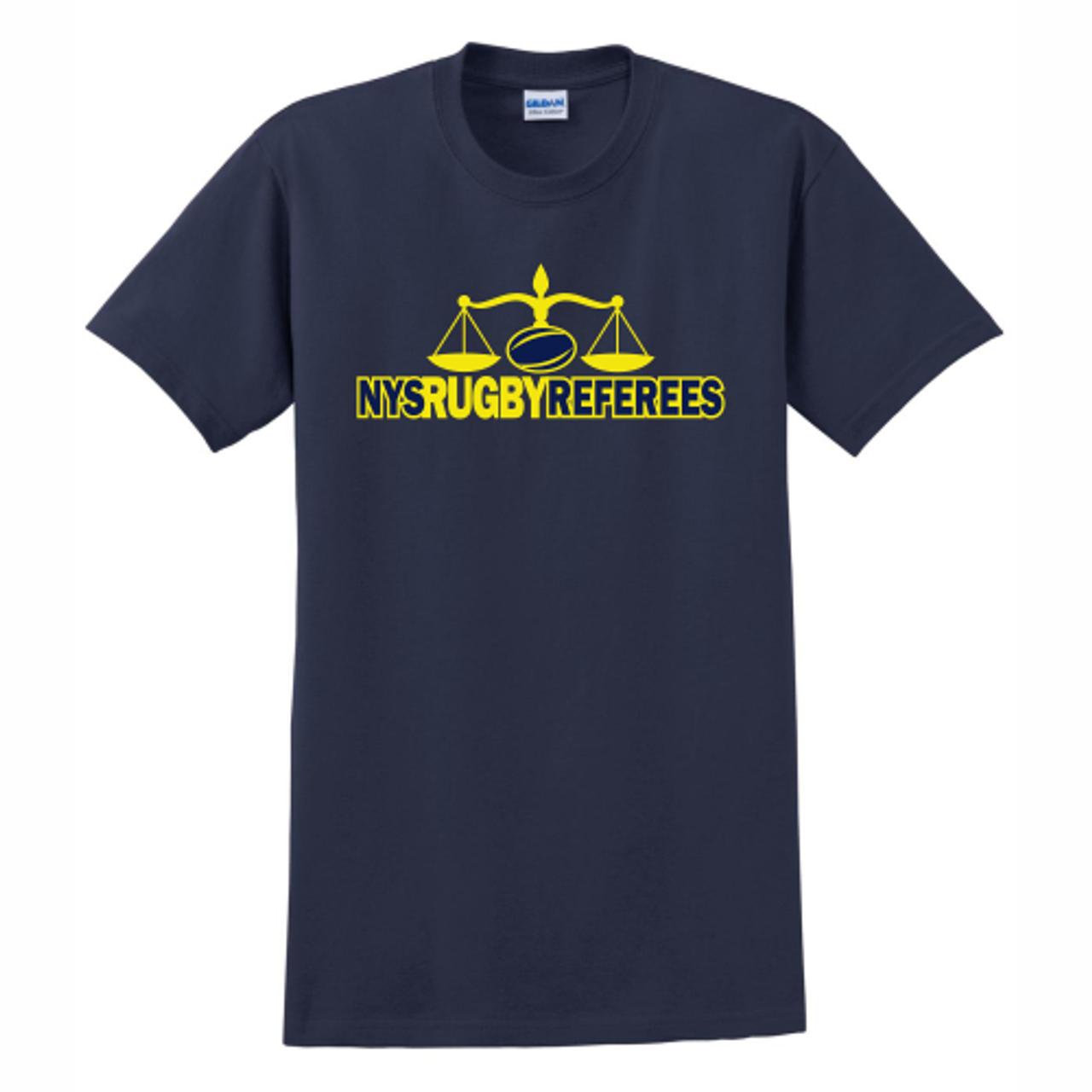 NYSRRS Cotton Tee, Navy