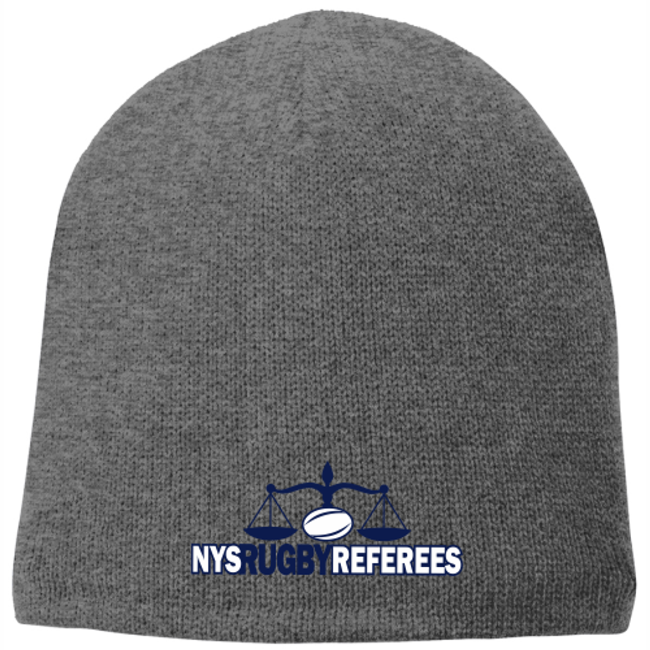 NYSRRS Fleece-Lined Beanie, Gray