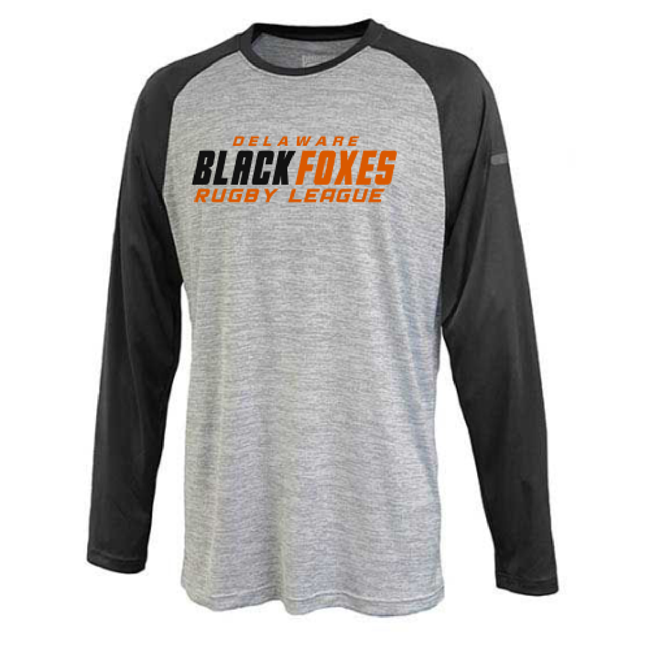 Black Foxes LS Performance Tee