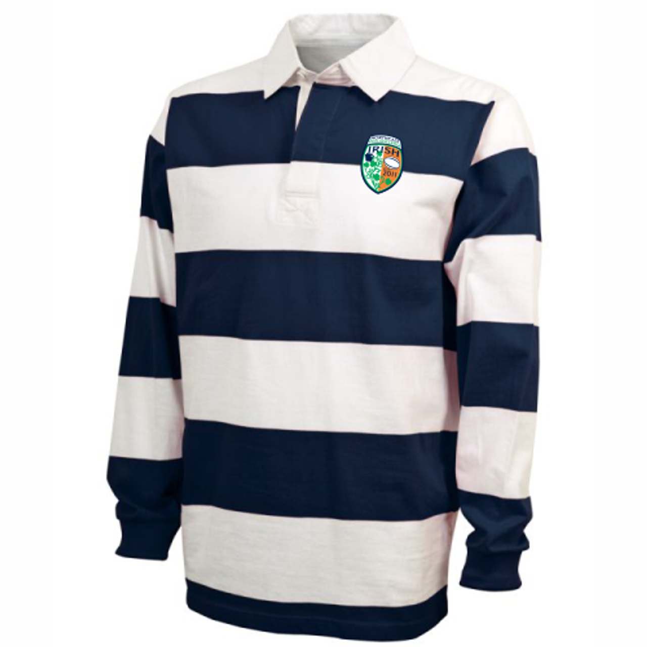 NEP Irish Rugby-Stripe Polo
