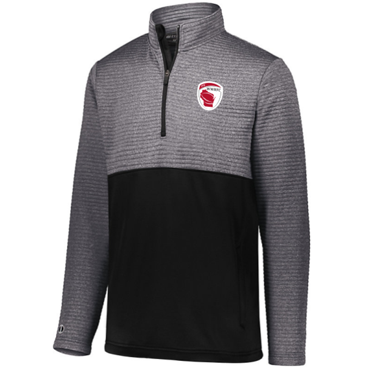 Wisconsin WRFC 1/2-Zip Quilted Pullover