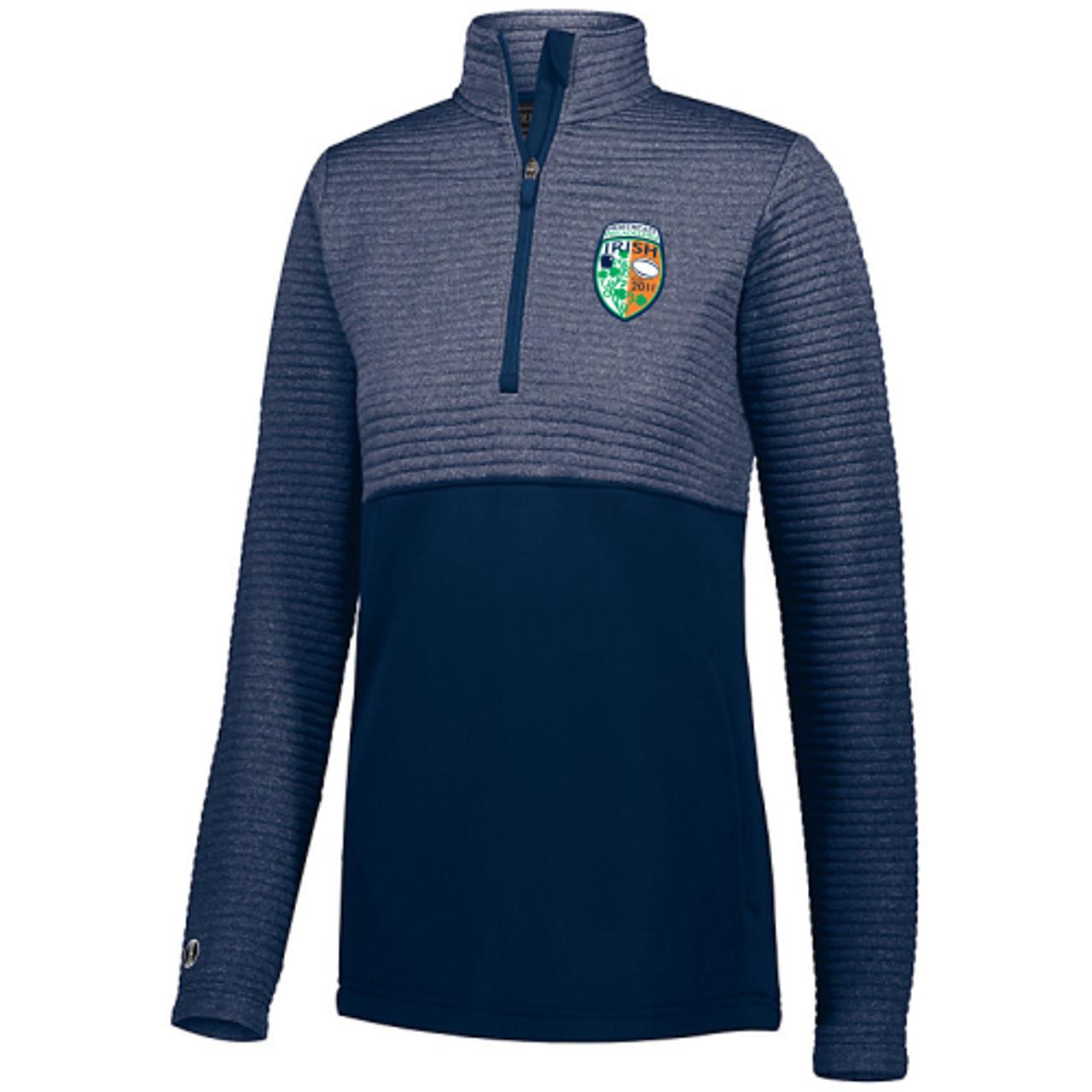 NEP Irish 1/2-Zip Quilted Pullover