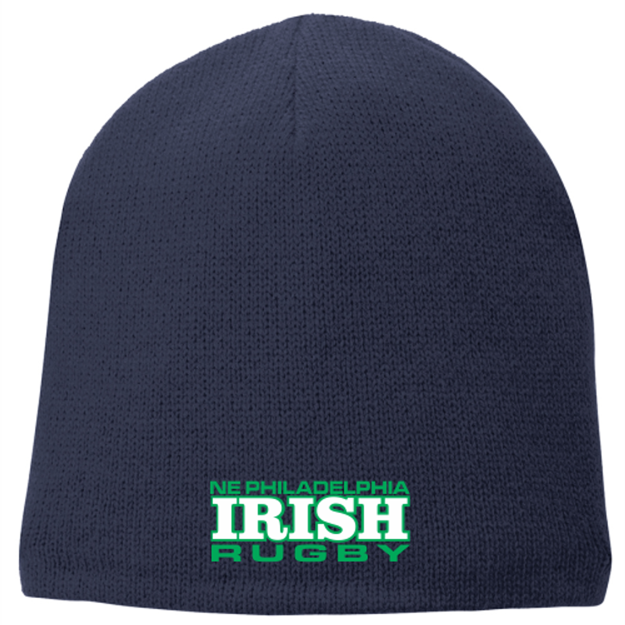 NEP Irish Fleece-Lined Beanie, Navy